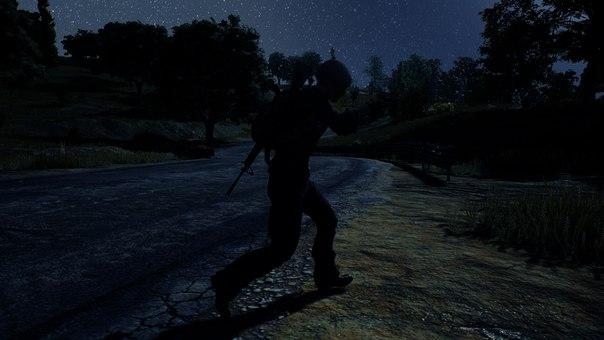 Ночь в PUBG