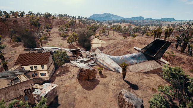 Скриншоты новой пустынной карты в PlayerUnknown Battlegrounds (PUBG)